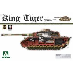 King Tiger Sd.Kfz.182 HENSCHEL TURRET w/ZIMMERIT