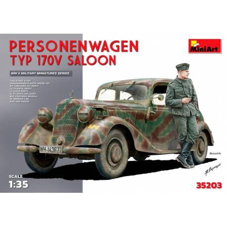 539362c9d7e3e0 L1500A (Kfz.70) GERMAN PERSONNEL CAR - Maquette char promo
