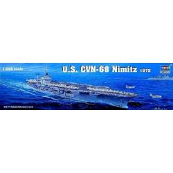 U.S. CVN-68 Nimitz aircraft carrier 1975