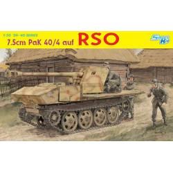 7.5cm PaK 40/4 auf RSO ~ Smart Kit