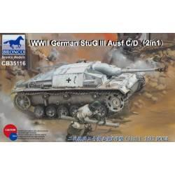 WWII German Sturmgeschütz III Ausf C/D