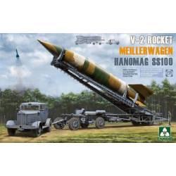 V-2 Rocket Meillerwagen Hanomag SS100 WWII German V-2 Rocket Transporter/Erector