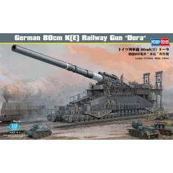"""German 80cm K(E) Railway Gun """"Dora"""""""
