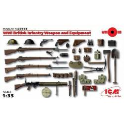WWI British Infantry Weapons and Equipment