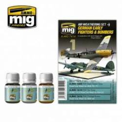 GERMAN EARLY FIGHTERS AND BOMBERS SET