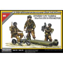 WW II British Paratroopers with Welbikes