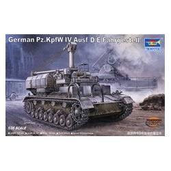 German Panzerkampfwagen IV D/E Fahrgestell Tank