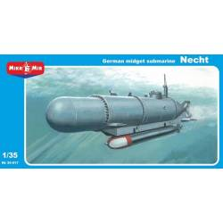 German Midget Submarine Necht