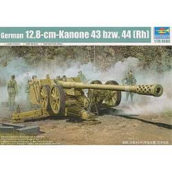 CANON ANTI CHAR SUPER LOURD ALLEMAND - 12.8cm PaK44 (Rheinmetall) 1944