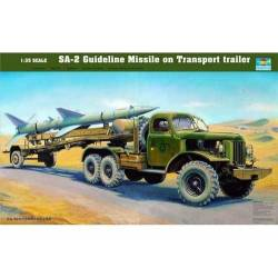 SA-2 Guideline Missile on Transport trailer