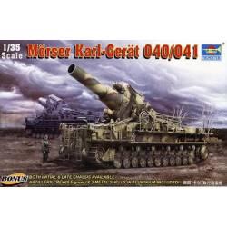 Morser Karl-Gerat 040/041 Rail gun