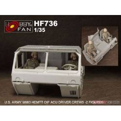U.S. Army M983 Hemtt OIF ACU Driver Crews