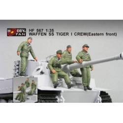 Waffen SS Tiger I Tank Crew Eastern Front