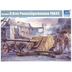 German 12,8 cm Kanone 43 kzw.44 (KRUPP)