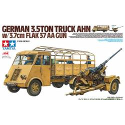German 3.5ton Truck AHN w/3.7cm Flak 37 AA Gun