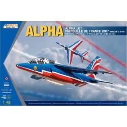 Alpha Jet Patrouille de France 2017