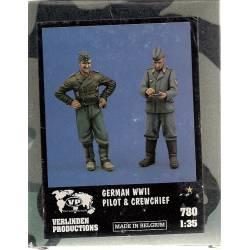 GERMAN WWII Pilot & Crewchief