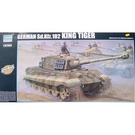 German Sd.Kfz. 182 King tiger 2 in 1 (Henschel Turret & Porsche Turret)