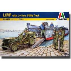 LCVP WITH 1/4 TON JEEP