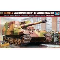 CANON AUTOMOTEUR ALLEMAND TIGER W/17cm K72