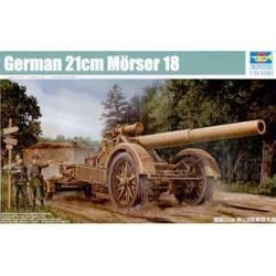 German 21cm Morser 18 Heavy Artillery Gun