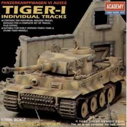 TIGER-I individual tracks