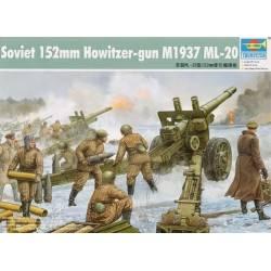 Soviet 152mm Howitzer-gun M1937(ML-20)