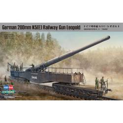 GERMAN 280mm K5 (E) RAILWAY GUN LEOPOLD