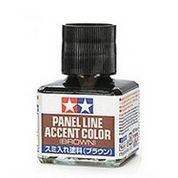 PANNEL LINE ACCENT COLOR BROWN