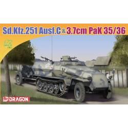 Sd.Kfz.251 Ausf.C & 3.7cm pak 35/36