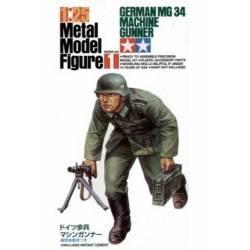 German MG34 Machine Gunner