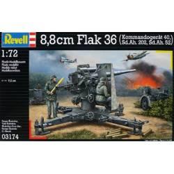 8,8 cm Flak 36 with Sd.Ah. 202, Sd.Ah. 52