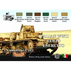 ITALIAN WWII REGIO ESERCITO 6x 22ml acrylic colours