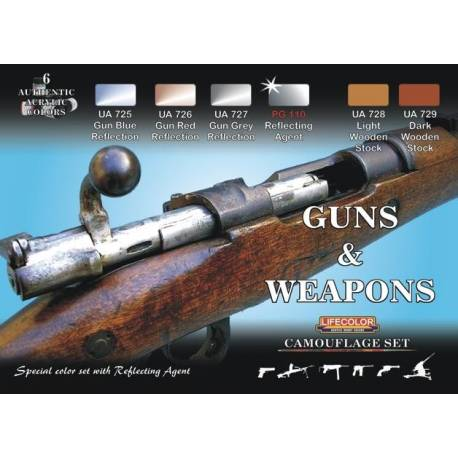 CAMOUFLAGE SET Guns and Weapons