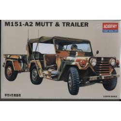 M151A2 MUTT AND TRAILER