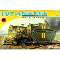 LVT-4 Water Buffalo & Jeep
