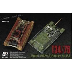 T34/76 Model 1942/43 Factory N°.183
