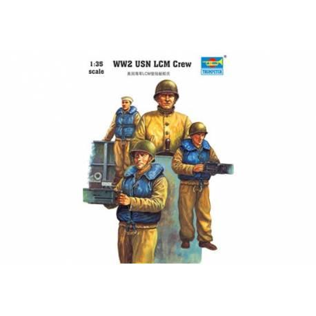 WW2 USN LCM crew