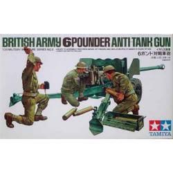 British Army 6Pounder Anti-Tank Gun
