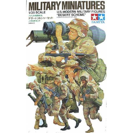 "U.S. Modern Military Figures ""Desert Scheme"""