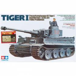 German Tiger I Early Prod. - w/ABER PE Parts/Gun Barrel