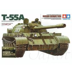 Russian Main Battle Tank T-55A - w/ABER PE Parts/Gun Barrel