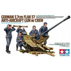 3.7cm FLAK37 Anti-Aircraft Gun - w/Crew Set