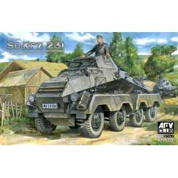 Sd. Kfz. 231 early type