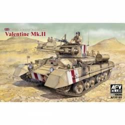British Infantry Tank Mk.III Valentine Mk.II.