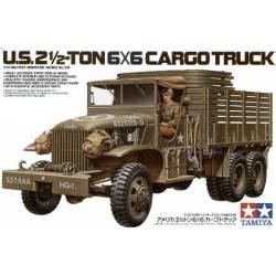 U.S. 2.5 Ton 6x6 Cargo Truck