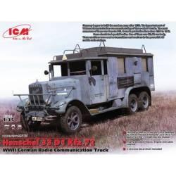 Henschel 33 D1 Kfz.72 WWII German Radio Communication Truck