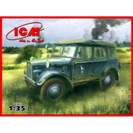 55fbe6c7dc6f38 le.gl.Einheits-Pkw (Kfz.1) - WWII German Personnel Car - Maquette ...