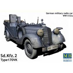 Sd.Kfz. 2 Type 170VK German Military Radio Car