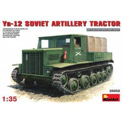 Ya-12 SOVIET ARTILLERY TRACTOR early production